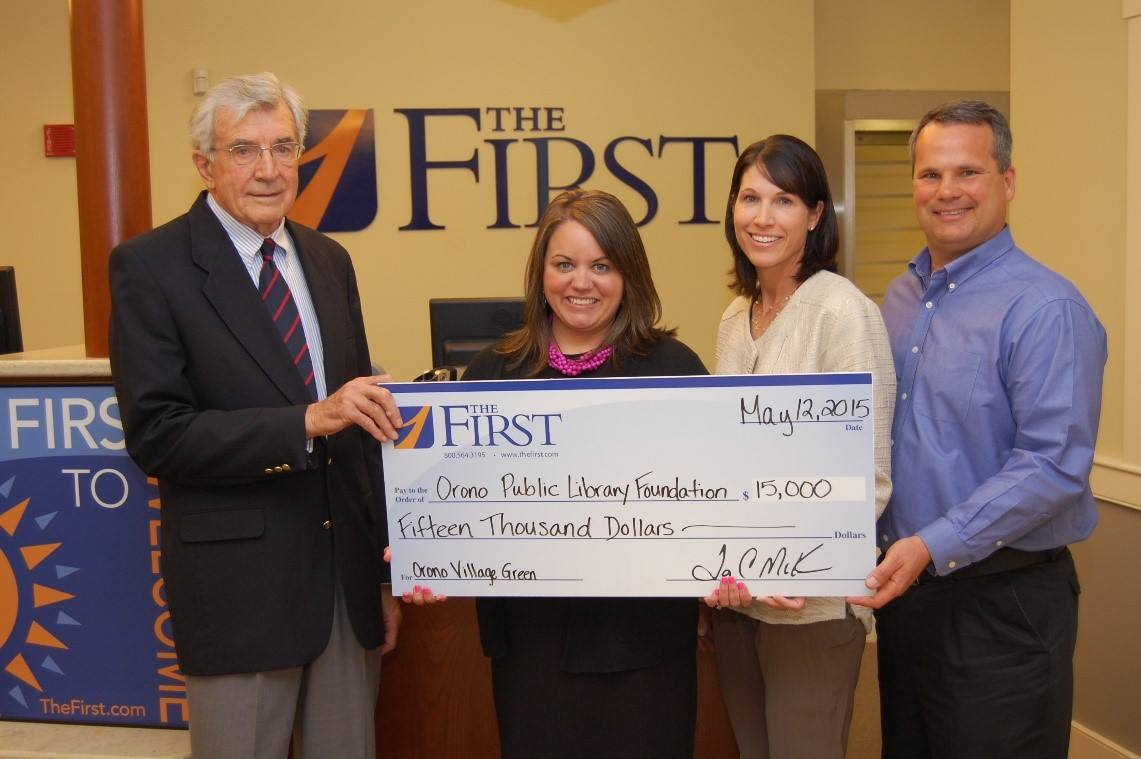 $15,000 Matching gift from The First